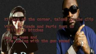 Skrillex & Rick Ross - Purple Lamborghini (Lyrics)
