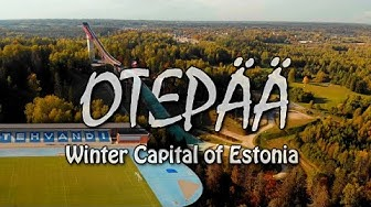 OTEPÄÄ | Winter Capital of Estonia | Drone [4K]