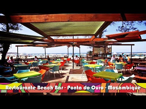 Visit Mozambique | Beach Bar Restaurant Ponta do Ouro