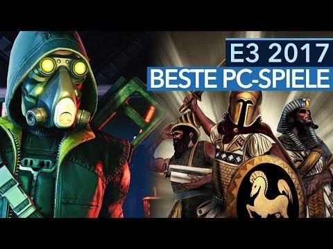 Die wichtigsten PC-Spiele der E3 - Die Top-Titel für 2017 und 2018