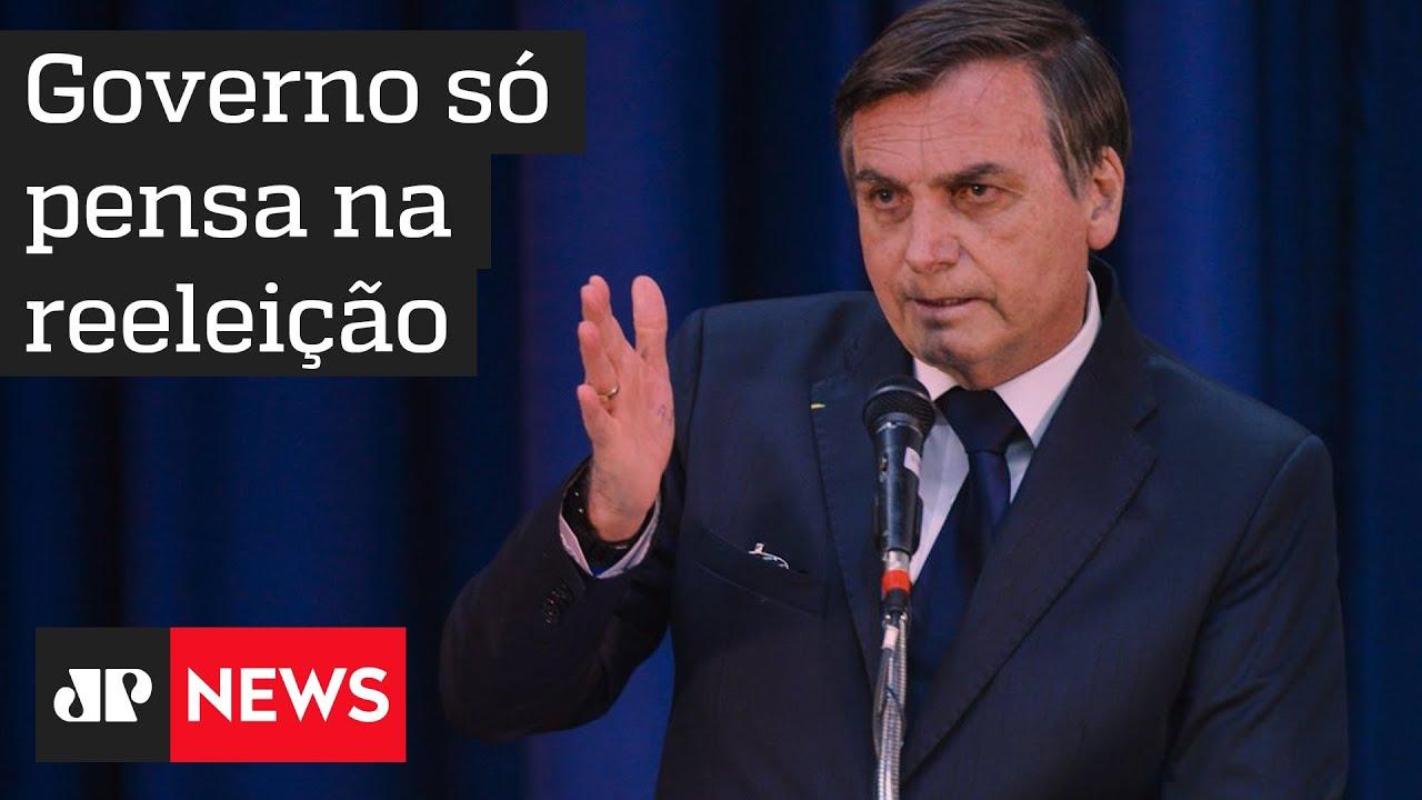 Governo Bolsonaro não esconde que já pensa em reeleição em 2022