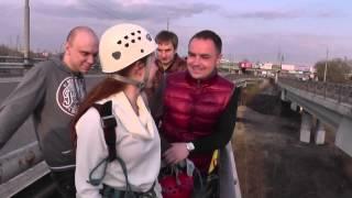 Прыжок с моста (Юлия). Тренинг-интенсив Раскрепощение (Воронеж)