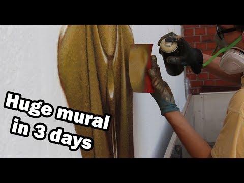 Mural painting: Welding Robot | Graffiti job
