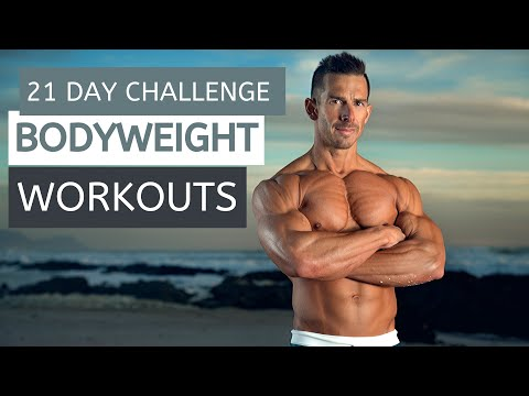 DAY 1 OF 21   BEFIT BODYWEIGHT 21 DAY CHALLENGE   FULL BODY WORKOUTS
