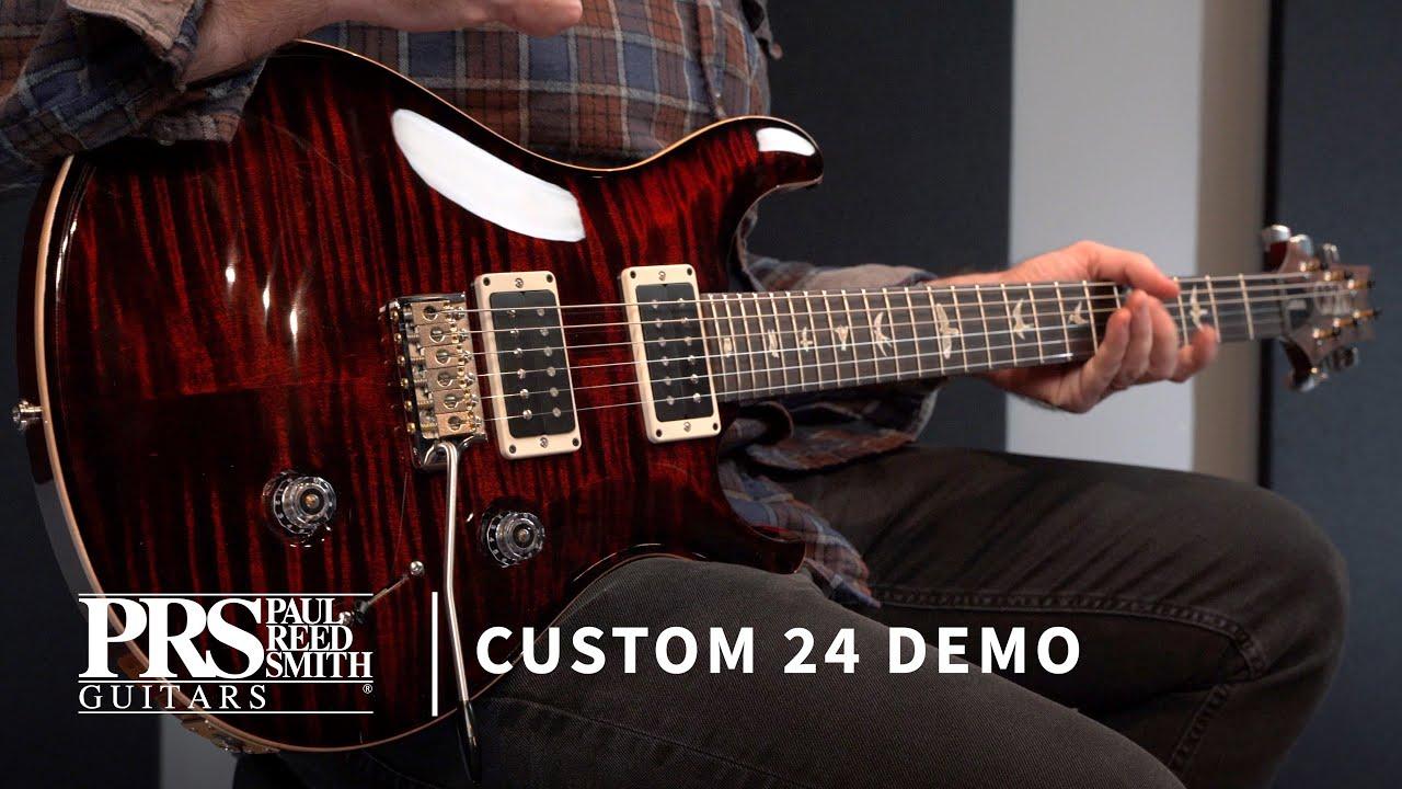 The Custom 24 | Demo by Bryan Ewald | PRS Guitars