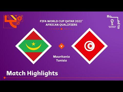 Mauritania Tunisia Goals And Highlights
