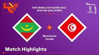 Мавритания  0-0  Тунис видео