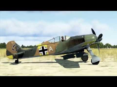 IL-2:Battle of Stalingrad. FW190 A-3 quick mission.