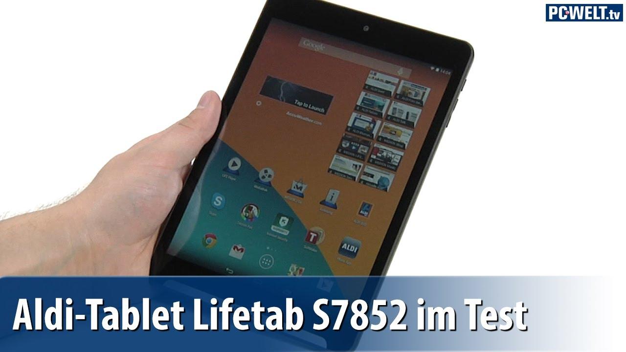 Aldi-Tablet: Medion Lifetab S7852 im PC-WELT-Test