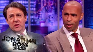 Thierry Henry Opens Up About Racism In Football - The Jonathan Ross Show