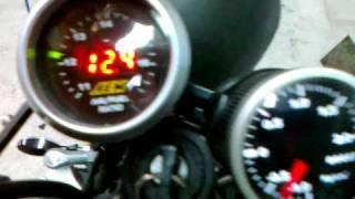 Yamaha FZR600 Turbo Warm Up