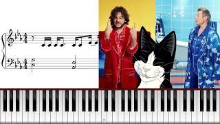 «Мясо или рыба?», музыка из рекламы корма «Феликс», как играть на пианино видео