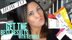 How To Get the best WEIGHT LOSS RESULTS using KETONES | Pruvit Keto//OS | Ashley Salvatori