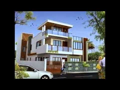 Modern Indian Home Designs - YouTube