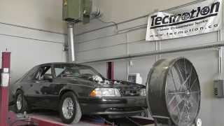 427 foxbody mustang on the dyno