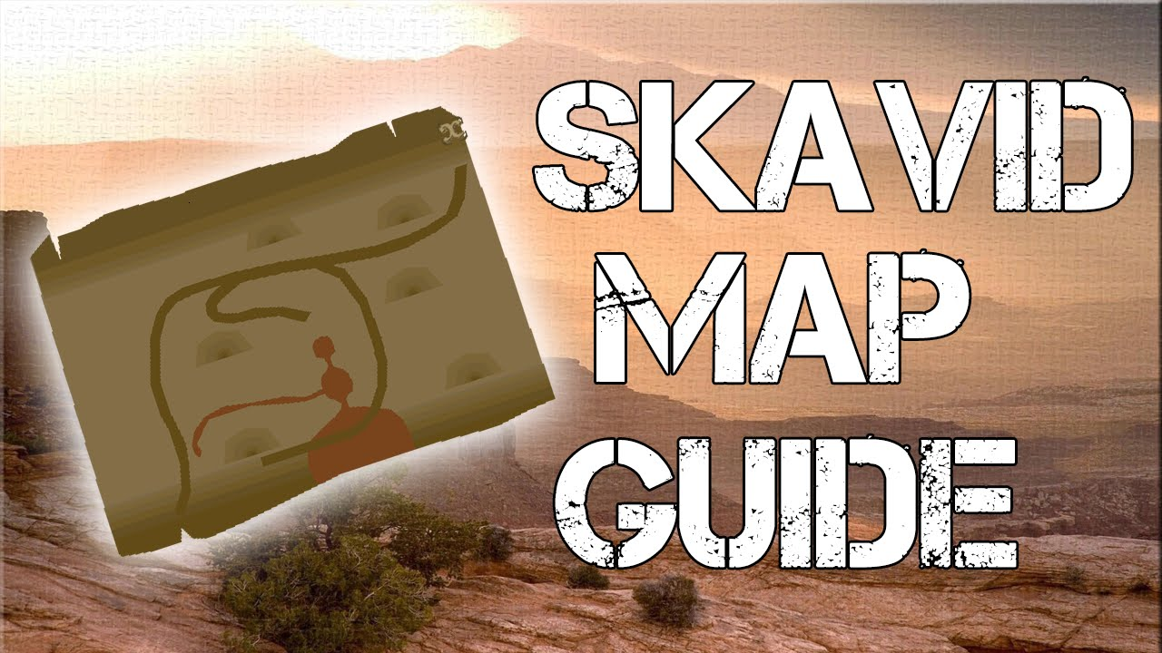 Runescape 2007 How to get Skavid Map (Ardougne Medium Diary) - YouTube