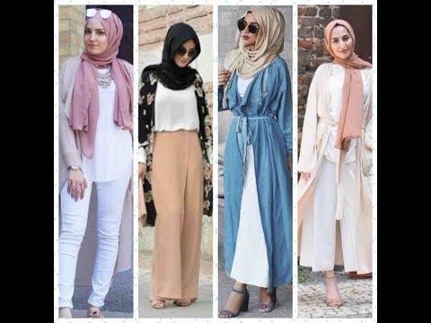 2968b5245 موضة الملابس المحجبات لفصل الصيف 2018 /Clothes veiled & hijab style ...