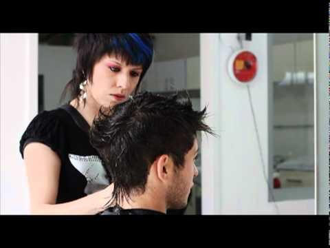 Cortes de cabello estilo punk para hombres