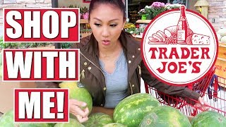 TRADER JOE'S SHOP WITH ME!