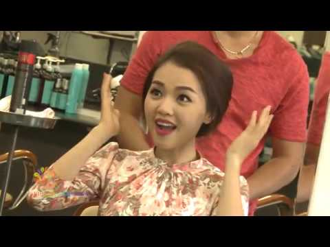 3 phong cách tóc cho mùa hè -  Vui Sống Mỗi Ngày [VTV3 – 12.05.2015]