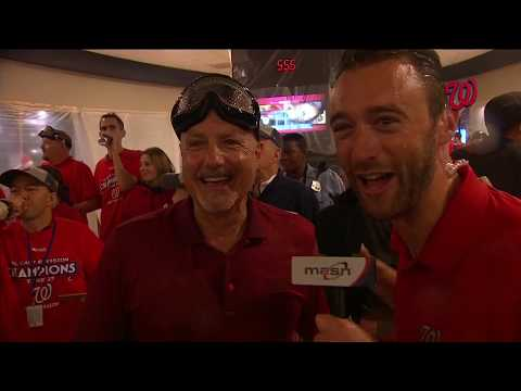 2017 Washington Nationals celebrate NL East title (Part 2 of 3)