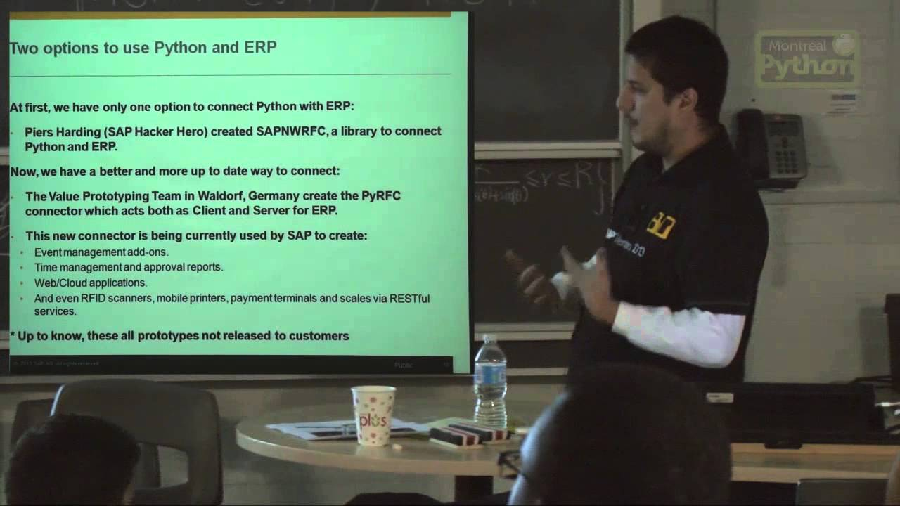 Image from Python and SAP