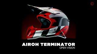 Airoh Terminator Open Vision Shot - MX Helmet
