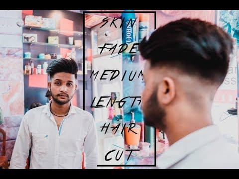 Skin Fade Medium Length Haircut For Men   HASAN IMPRESSION