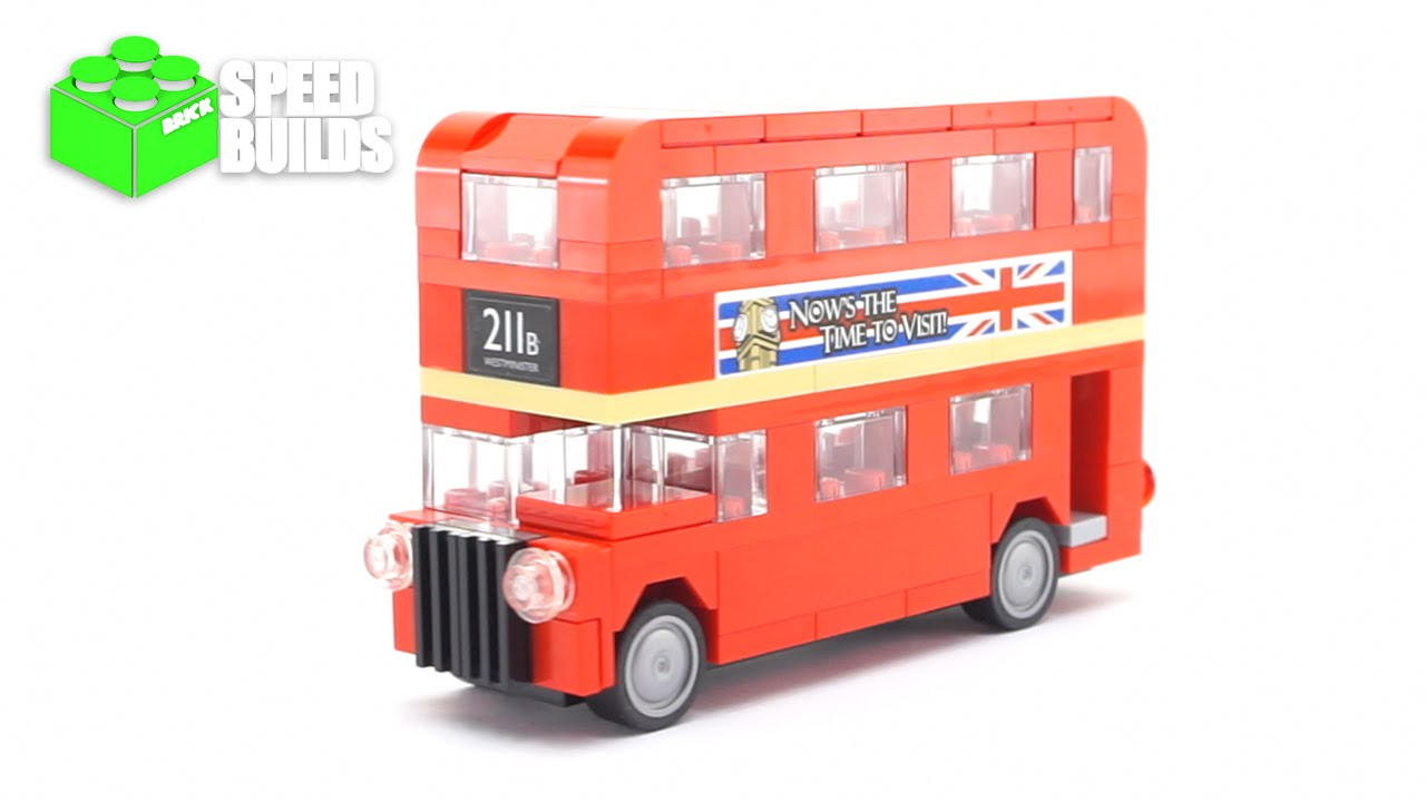 lego creator mini london bus august 2016 promo lego 40220 speed build youtube. Black Bedroom Furniture Sets. Home Design Ideas