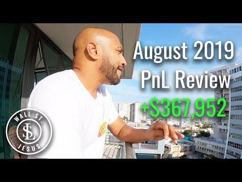 Sang Lucci August 2019 PnL Review