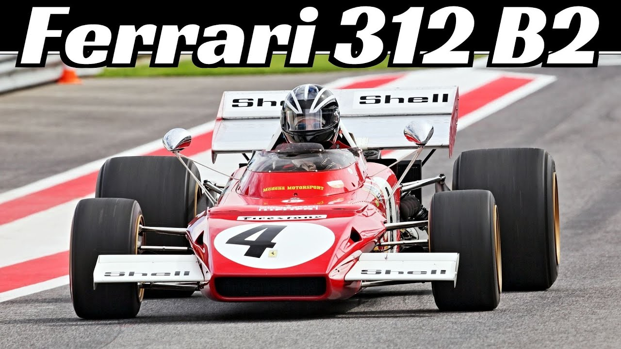 Jacky Ickx's Ferrari 312 B2 (1971) Chassis 005 - Flat-12 Engine Sound & Action