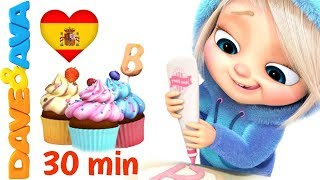 Baixar 🎂 Un Pastel   Canciones Infantiles en Español   Canciones Infantiles de Dave y Ava🎂