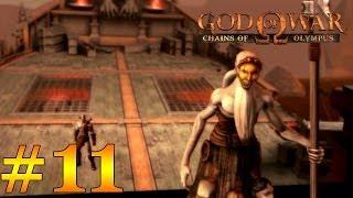 God of War Chains of Olympus HD   Walkthrough Español   Parte 11