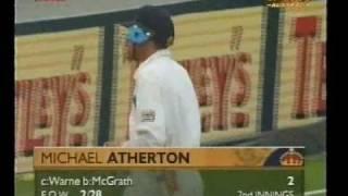 19 times dismissed- Michael Atherton vs Glenn McGrath *BUNNY ALERT!*