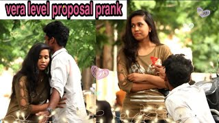 love proposal prank | tamil prank | mano | vaaya moodra