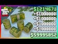 GTA 5 Online: FAST UNLIMITED MONEY METHOD! Best New Easy Money Not Money Glitch PS4/XboxOne/PC 1.46