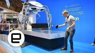 OMRON Ping Pong Robot 2015 Edition