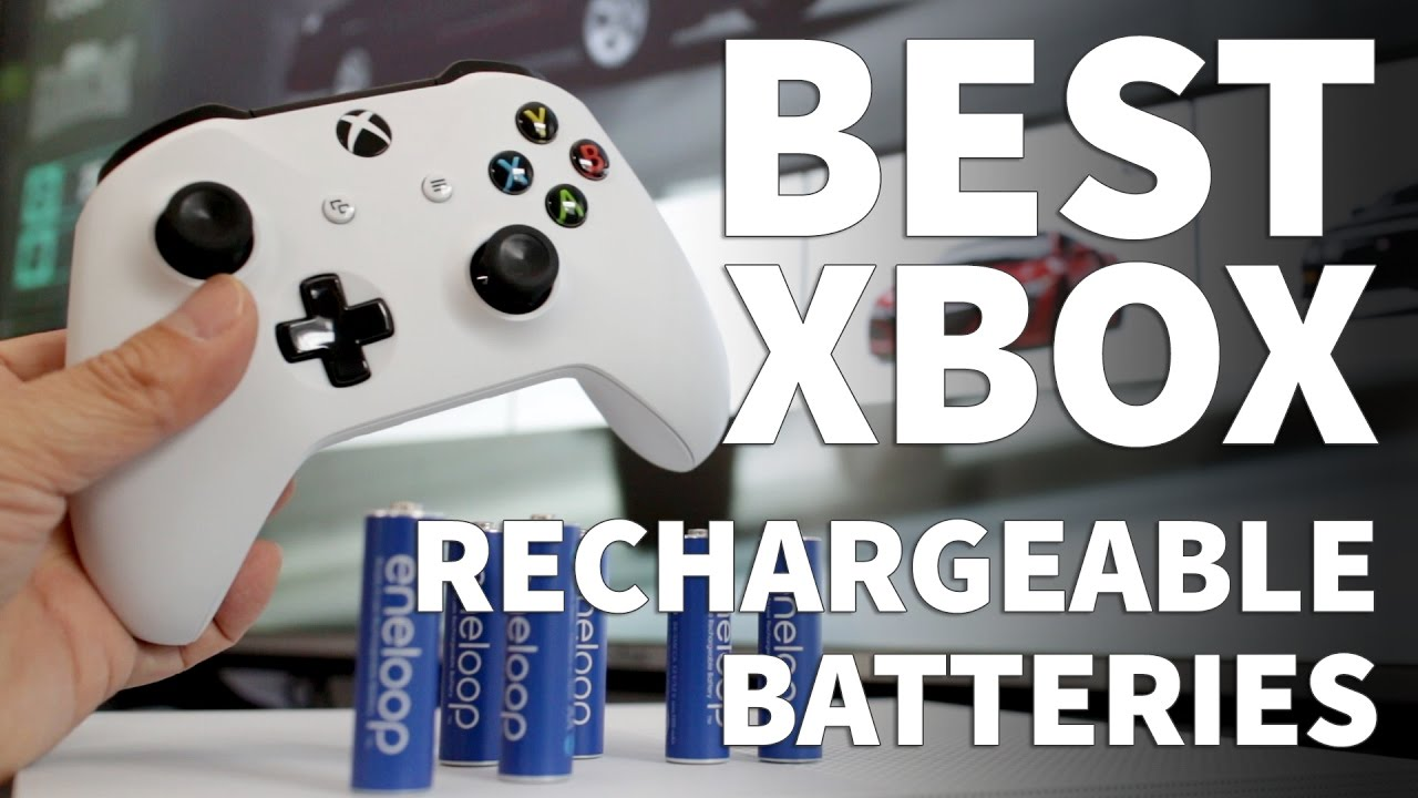 Best Rechargeable Batteries For Xbox Controllers Eneloop