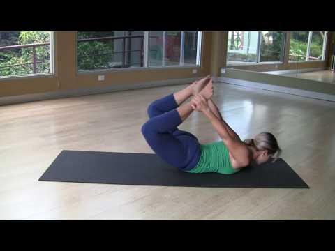 Pilates Exercise: Rocking