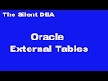 Oracle External Tables