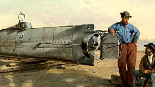 H. L. Hunley - The First Successful Combat Submarine
