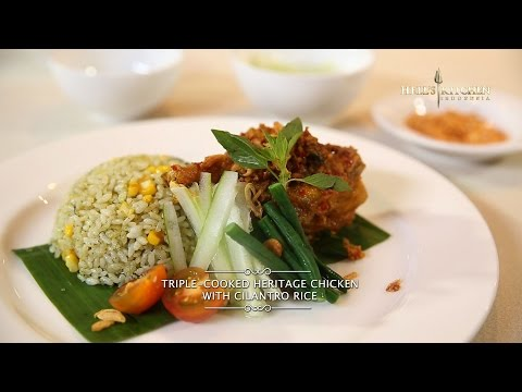Hell's Kitchen at Home #5 - Triple-Cooked Heritage Chicken with Cilantro Rice by Chef Juna