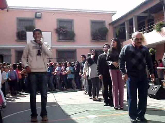 ANIMACION en COLEGIO ENCARNACION ROSAL Grupo CJ Cristos Jovenes Xela