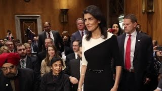 "Nikki Haley hopes to ""educate"" Trump"