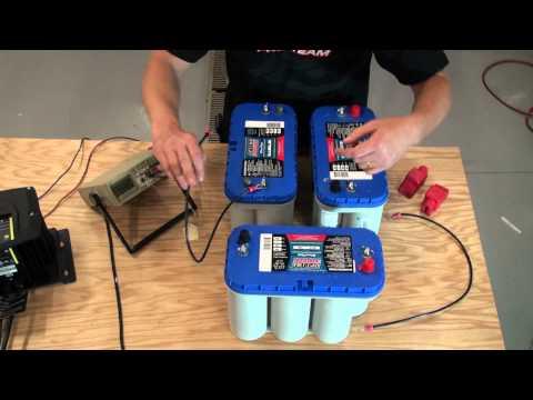Installing 24V and 36V battery system for trolling motor