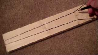 How To Make A High Performance Longbow (mollegabet Design) For Under $25: #1 Design/layout
