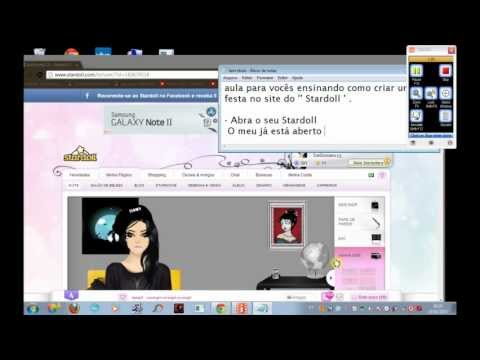Video Aula De Como Fazer Um '' CHAT '' No Stardoll