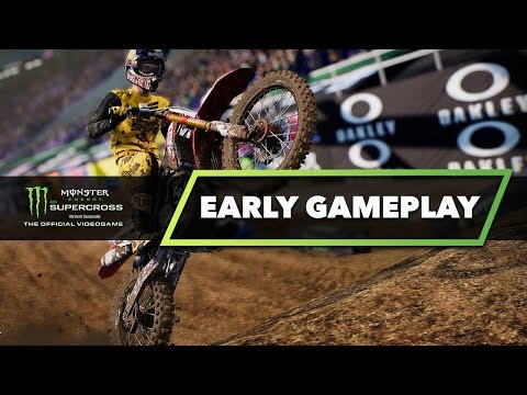 Monster Energy Supercross The Game - Early Gameplay - Are You Hyped?