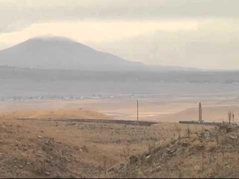 Армяно-турецкая граница в восьми километрах от Гюмри