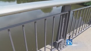 Pedestrian Bridge Construction Delayed